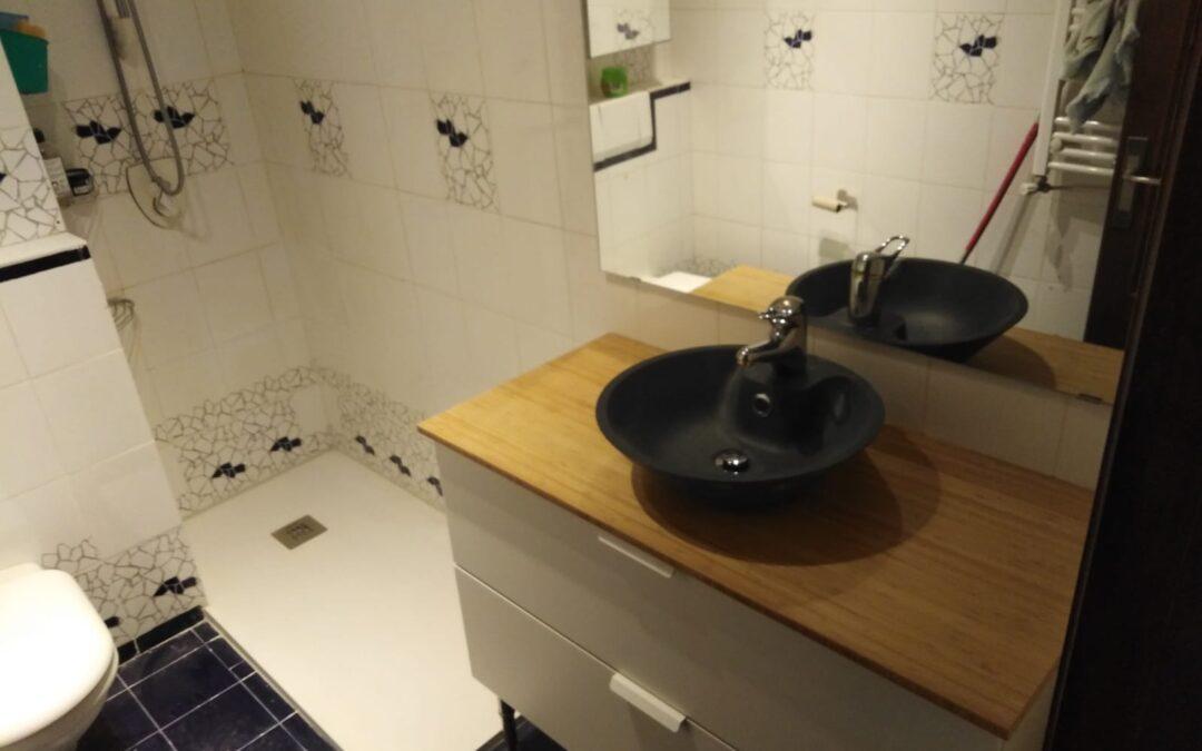 Cambio de bañera y mueble