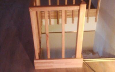 Cambio de barandilla para escalera