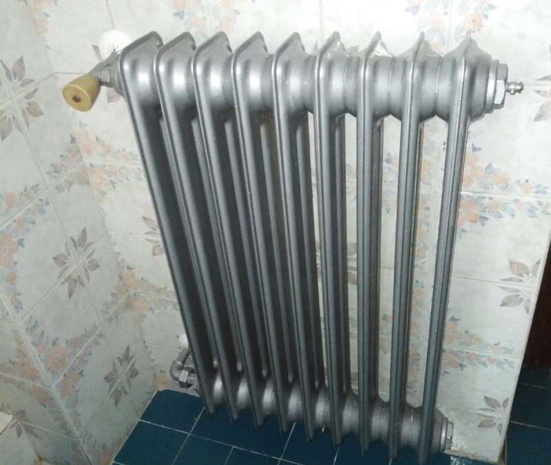 Pequeños arreglos en radiador
