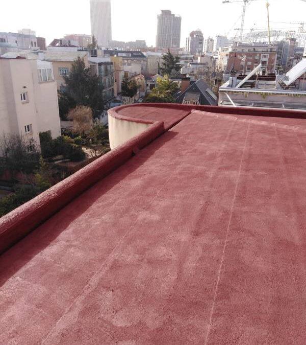 Arreglar terraza con pintura de caucho
