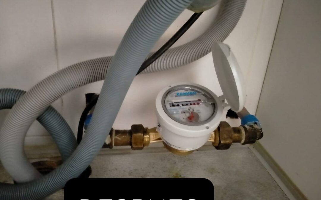 Cambio de contador de agua