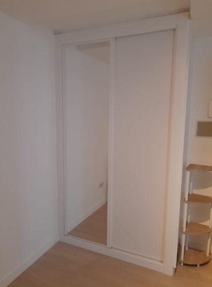 Instalación frente de armario